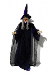 Halloween Decoration Halloween Figur Hexe, animiert 175cm
