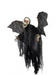 Dekoration Halloween Halloween Figur Bat Ghost 85cm