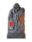 Halloween Decofiguren Halloween Grabstein, Laterne 91,5cm