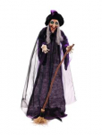 Halloween Decofiguren Halloween Hexe, animiert