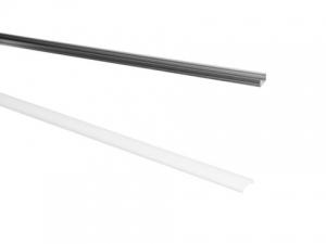 Eurolite Deckel für LED Strip Profile milchig 2m Abdeckung für Aluminiumprofil